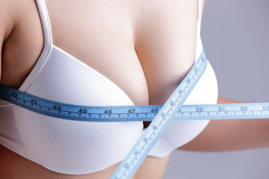 Breast augmentation after weight loss